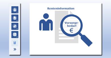 Renteninformation & Vorsorgebedarf