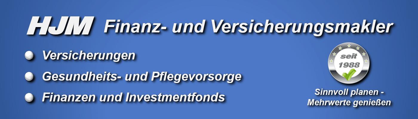 HJM Finanz- und Versicherungsmakler seit 1988