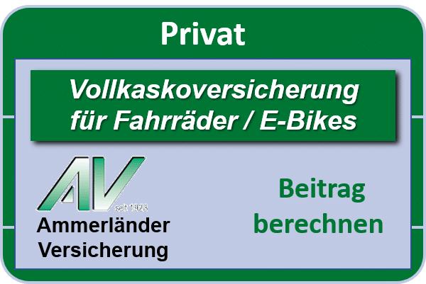 Fahrrad-Vollkaskoversicherung